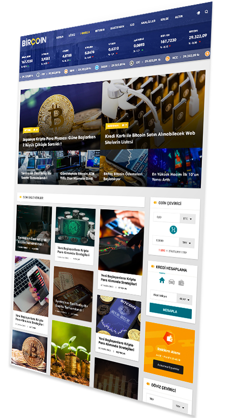 WordPress Bitcoin ve Finans Teması